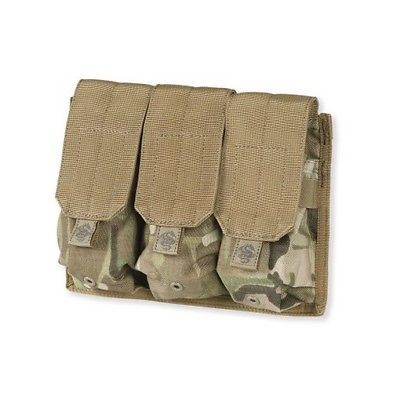 Tacprogear P-TRM1-MC Multi-Cam Triple Rifle Mag Pouch