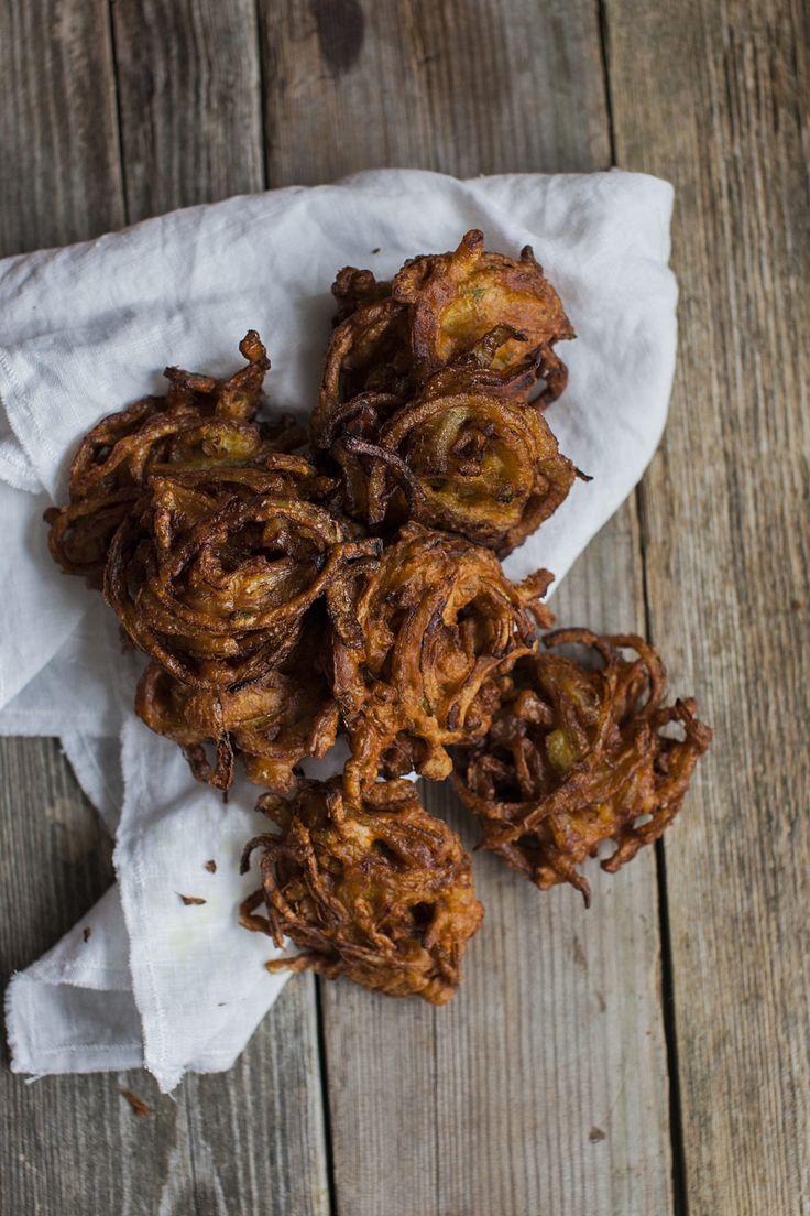 Onion Bhaji - see recipe at https://honestmunchies.com