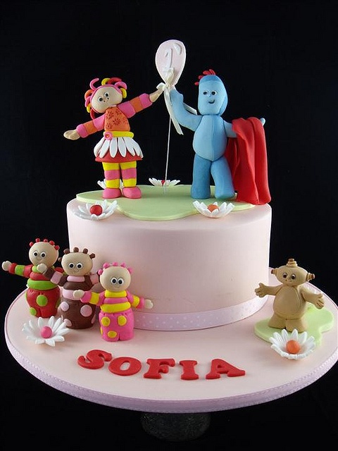 In the night garden ! by cake by kim, via Flickr