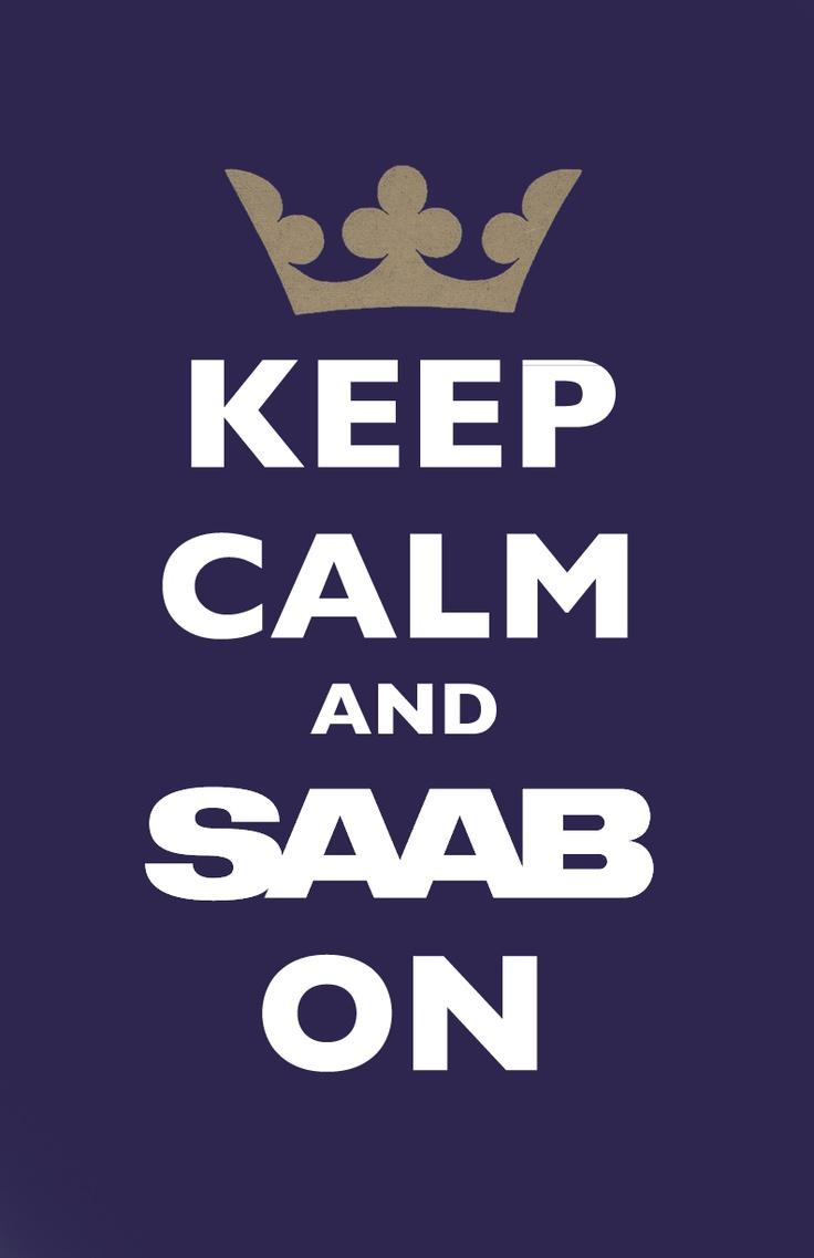 <3 Saab cars.