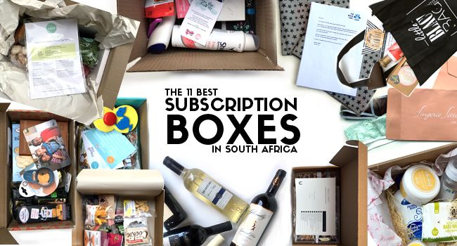 The 11 Best Subscription Box Services in South Africa  #subscription #shopping #nutreats