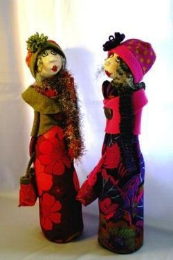 Cloth Doll Patterns por Jill Maas