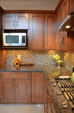 Modern Mosaic Backsplash Kitchen