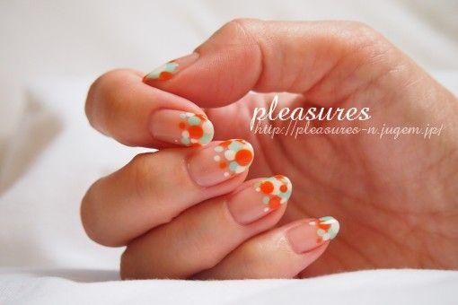 2012年夏ネイル2 | pleasures