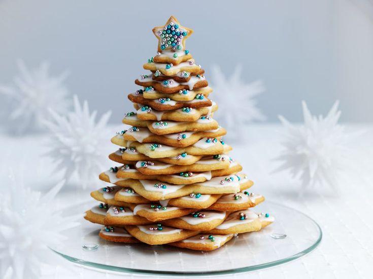 10 alberi di Natale fatti con biscotti, caramelle e frutta  - Elle