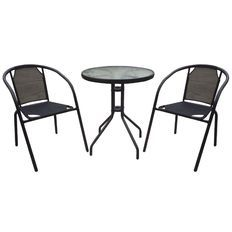Necessities Brand Bistro Textilene Set $59 the warehouse