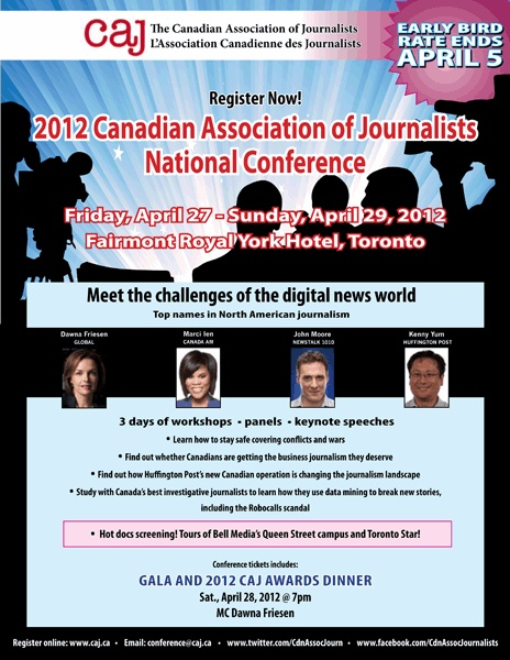 One of the posters for the 2012 conference.