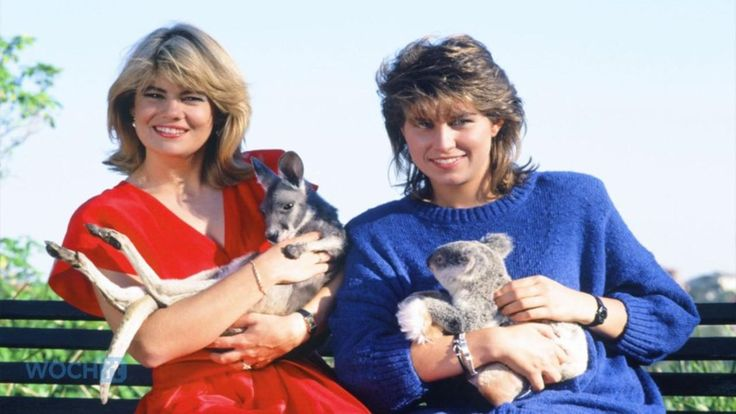 Lisa Welchel and Nancy McKeon from The Facts of Life.