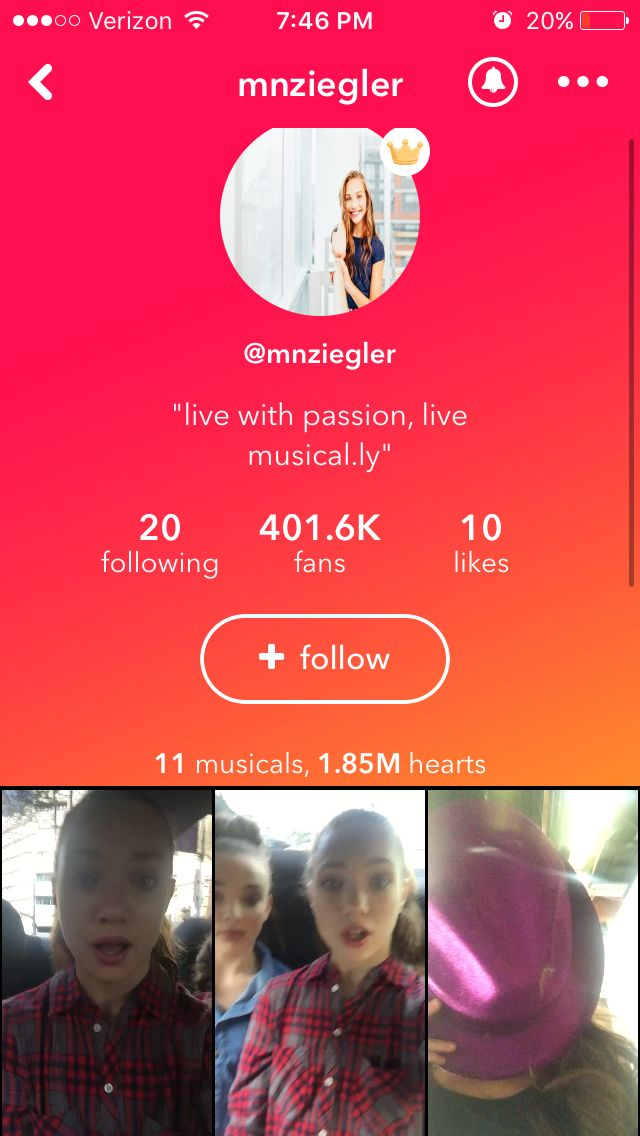 Follow Madison Ziegler On Musical.ly I Am Already