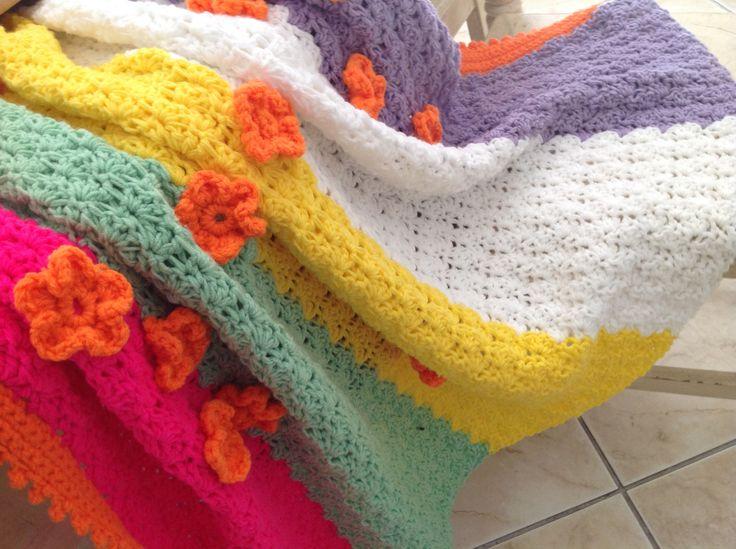 67 Blankets for Nelson Mandela Day. Crochet blanket