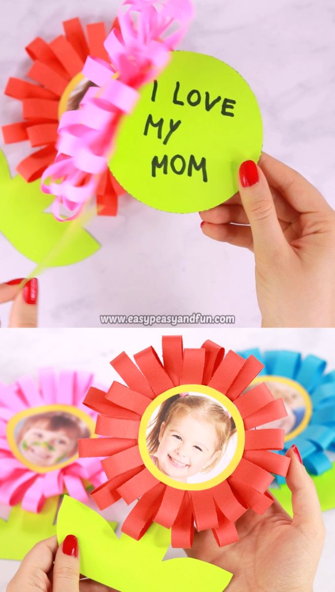 Flower Mothers Day Card Easy Peasy And Fun Crafts For Kids
