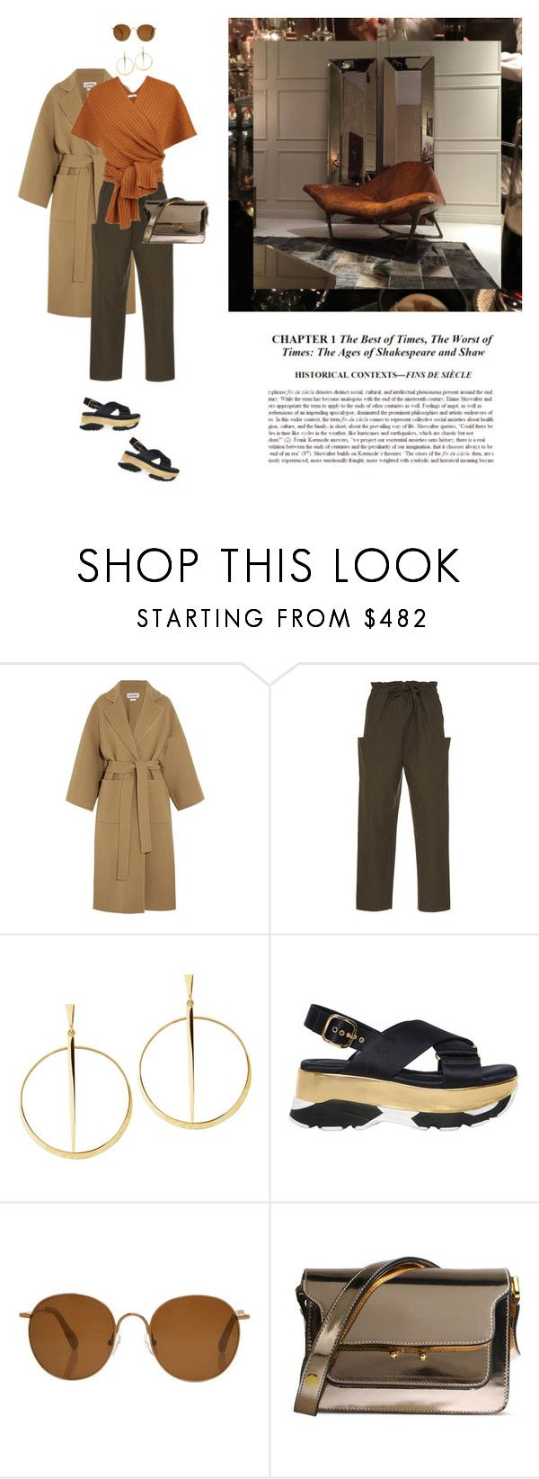 """""""hello !"""" by yenybarriot on Polyvore featuring Loewe, Maison Rabih Kayrouz, Lana, Marni and The Row"""
