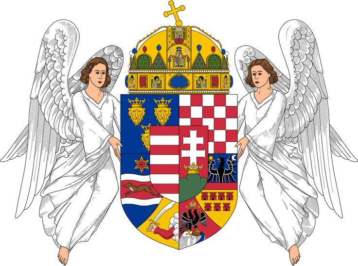 Herb Węgier od 1915 r.