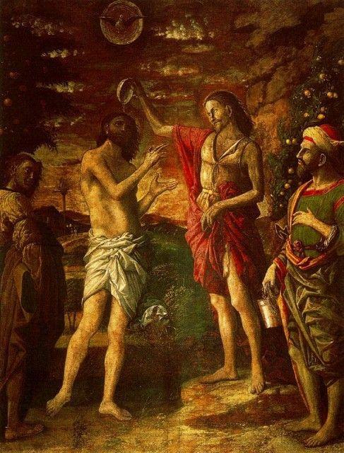 Andrea Mantegna - Baptism of Christ