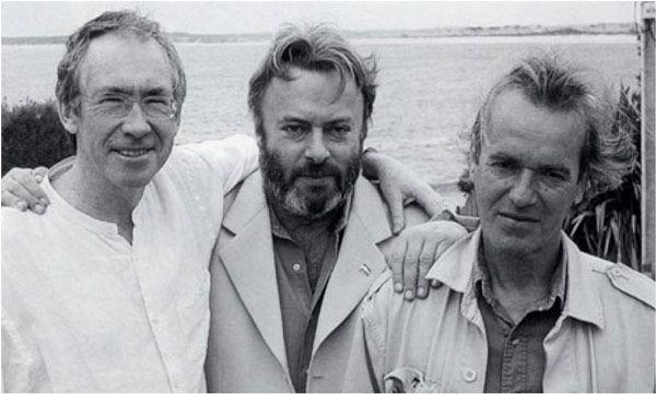 Ian Mc Ewan, Christopher Hitchens, and Martin Amis