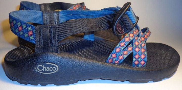 Chaco ZX1 Burst Blue size w8 #Chaco #SportSandals