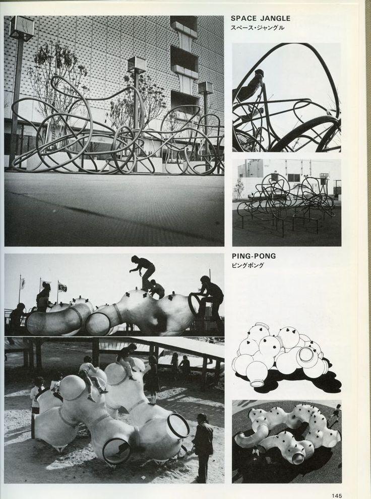 "Senda ""Space Jangle"" and ""Ping-Pong"" playground equipment"