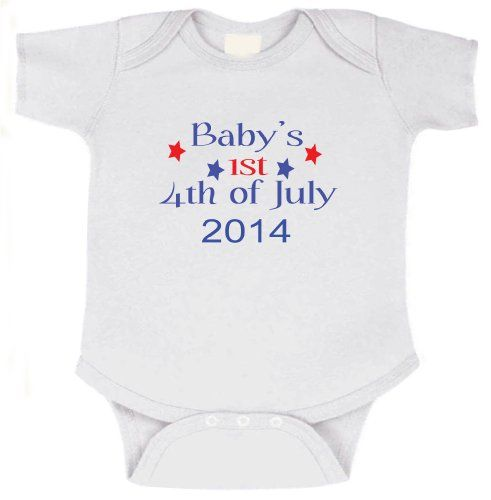 4th of july baby shirt