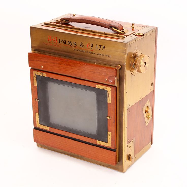 A Tropical Folding Minex 10cm X 15cm Camera Outfit By Adams & Co, London