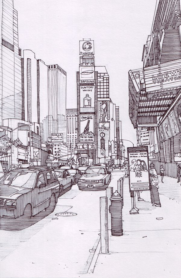 Times Square 2, New York by Edgeman13 on DeviantArt