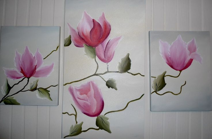 pintura em tela a oleo flores - Pesquisa Google