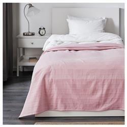 FABRINA κάλυμμα κρεβατιού, ανοιχτό ροζ, Καλύμματα Κρεβατιού ΜΟΝΟ