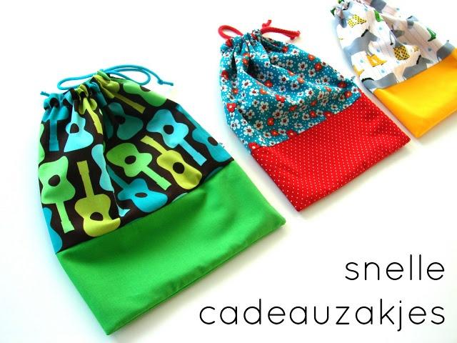 Cadeauzakjes / Geschenke schnell und schön verpackt