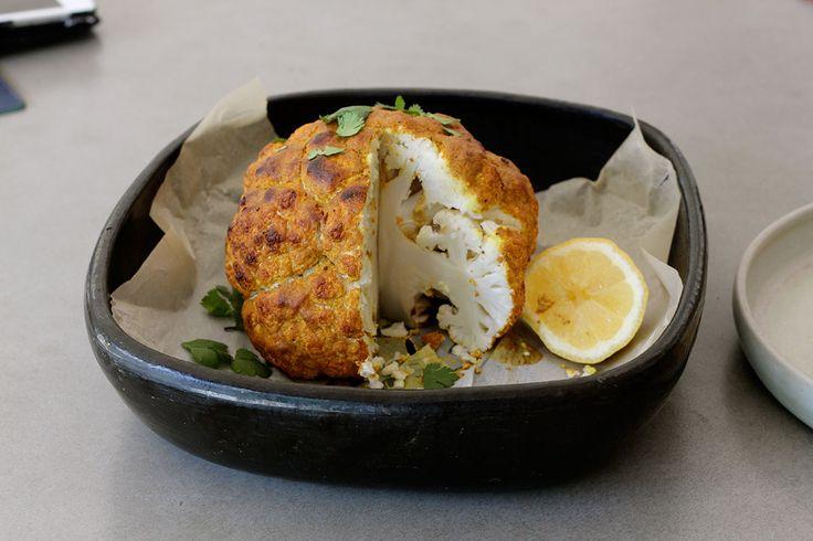 Spicy Yoghurt Marinated Roast Cauliflower – The Holistic Ingredient