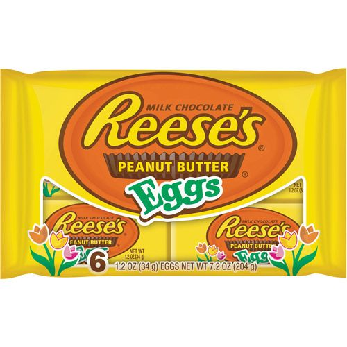 butter eggs | Reese's Easter Peanut Butter Eggs, 6ct: Snacks, Cookies ...