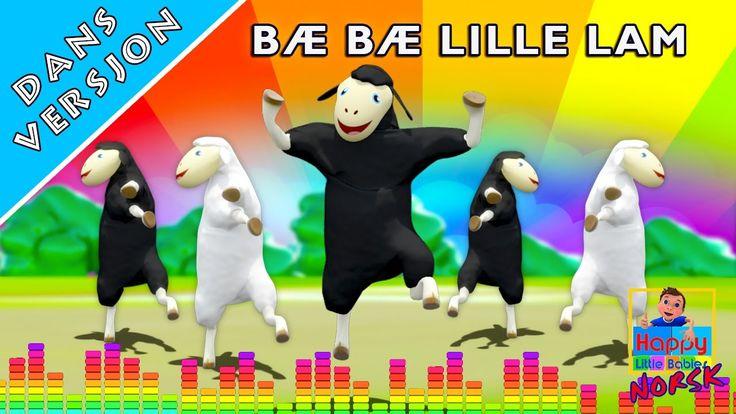 Bæ bæ lille lam | Dans Versjon | Norske Barnesanger