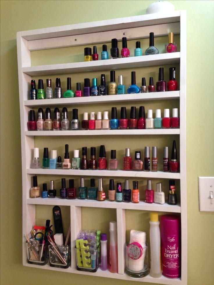 Best 25+ Diy nail polish rack ideas on Pinterest ...