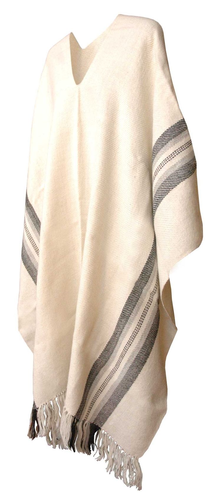 Alpaca wool poncho, hot and softness guaranties, get it on our on line bolivian handicraft shop.
