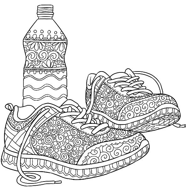 1569 best Adult Coloring Therapy images on Pinterest Coloring - copy coloring pages of dance shoes