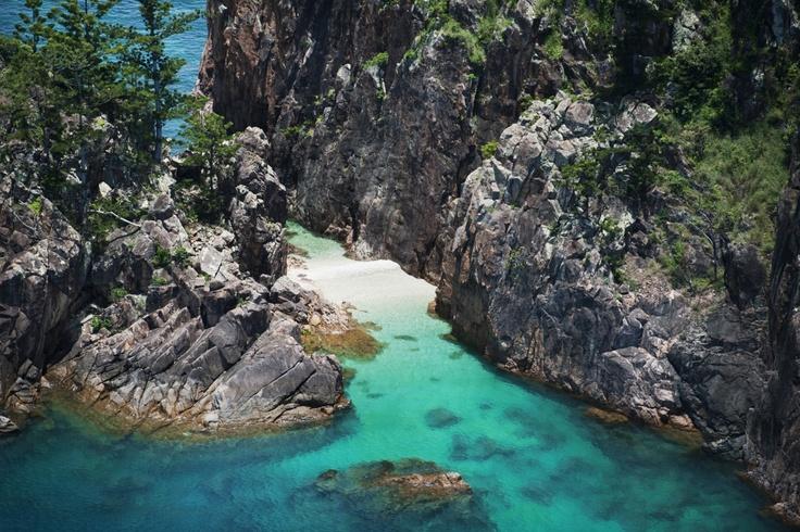 Gorgeous Blue Pearl Bay #beach #Whitsundays #travel