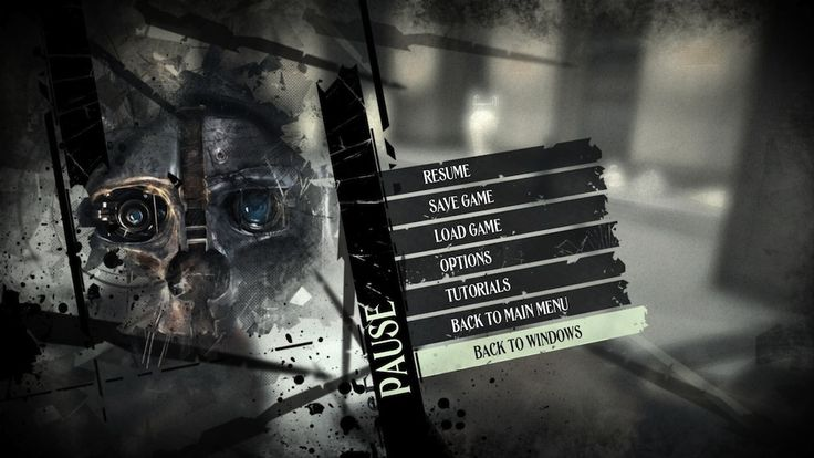 dishonored menus - Google Search