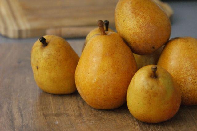 my autumn pears