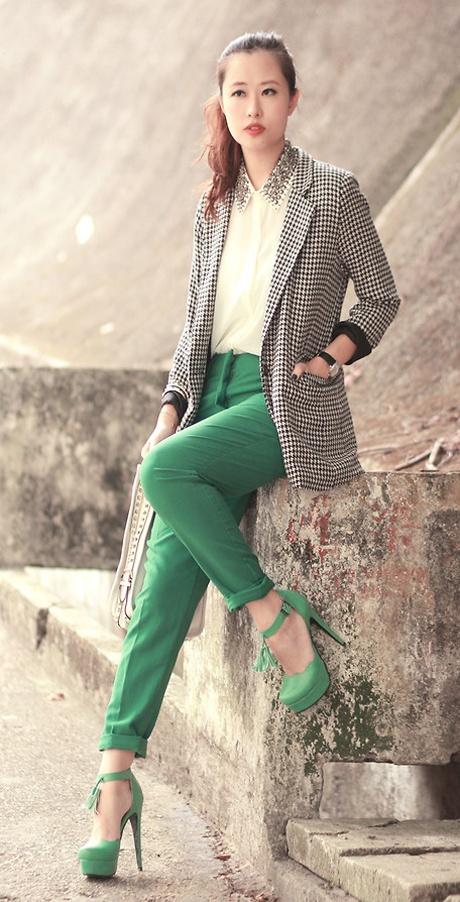 Verde Esmeralda, Color Pantone 2013 | Ella es Fashion