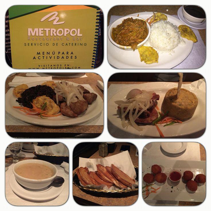 Restaurante Metropol - Uno de nuestros lugares favoritos para comida criolla cubana. Excelente servicio y precios. Cuentan con menú de almuerzo y happy hour. También música en vivo ciertos dīas. El mejor arroz congrí. Recomendado!