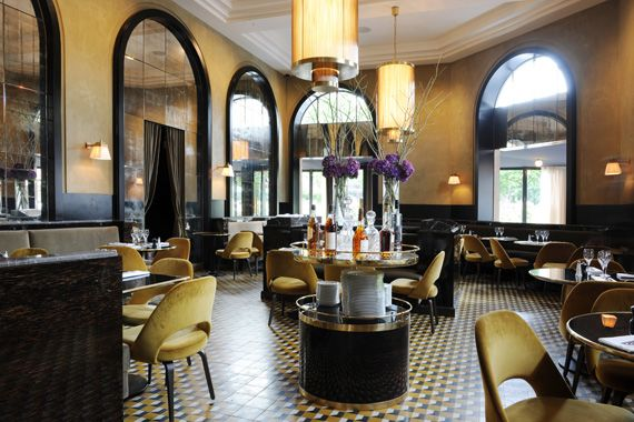 Joseph Dirand revamps Le Flandrin brasserie in Paris - Vogue Living
