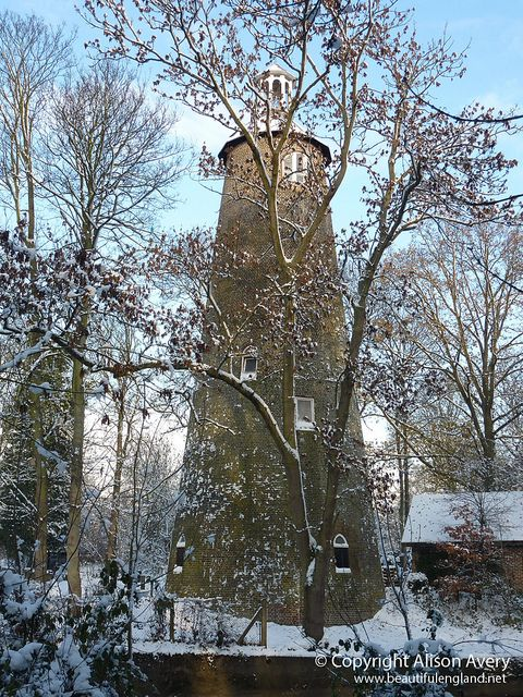 The 400-year-old Shot Tower - Crane Park, Whitton, Twickenham, England, UK-  (Copyright: Alison Avery)