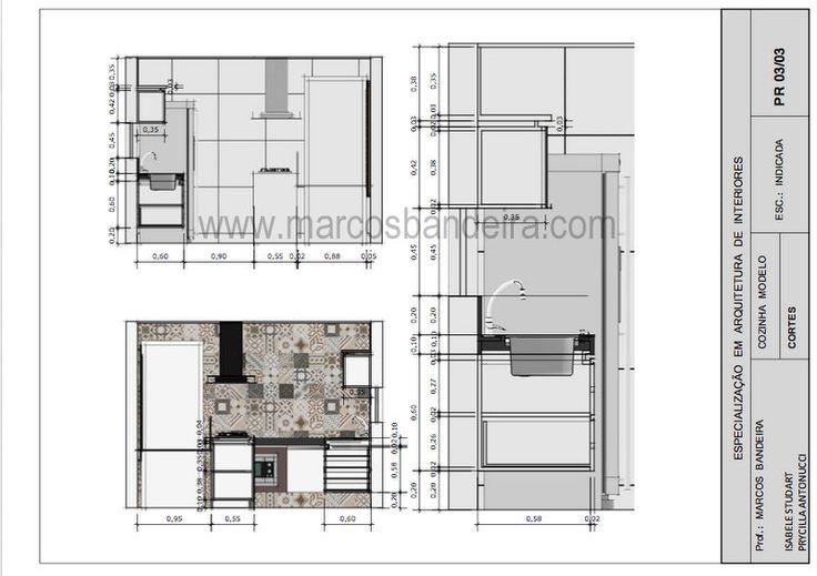 Projeto de arquitetura de interiores feito usando somente croquis e o programa SketchUp.