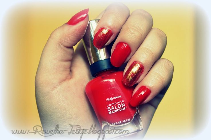 Rewelka Konkursuje i Testuje: Sally Hansen Salon Manicure - zdecydowanie TAK :)