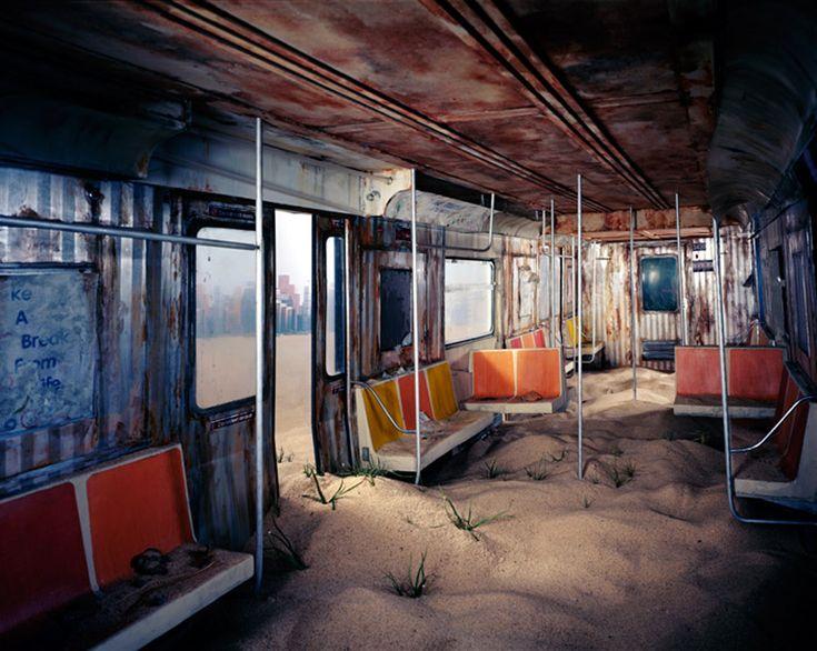 Série de fotos revela mundo pós-apocalíptico criado sem Photoshop