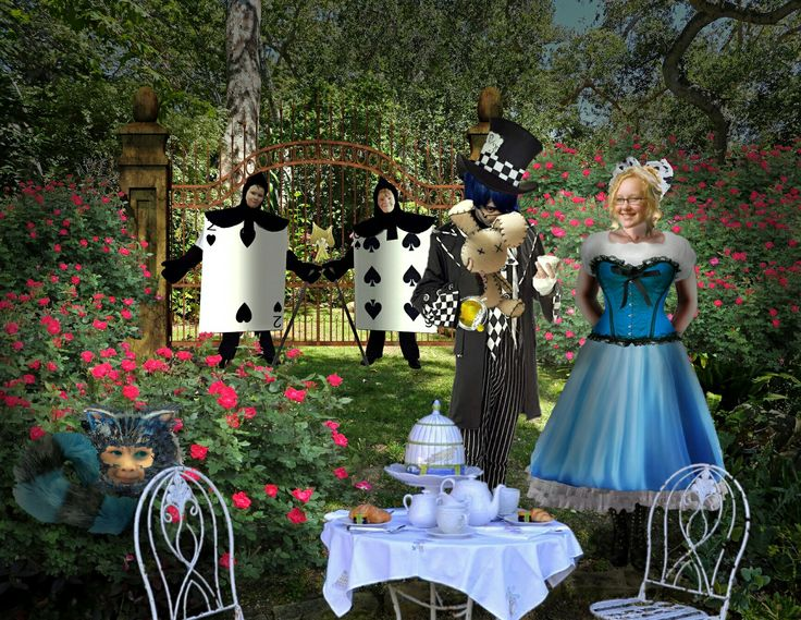 Mad Tea Party (starring my Spawn as The Mad Hatter, my