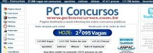 Site PCI Concursos