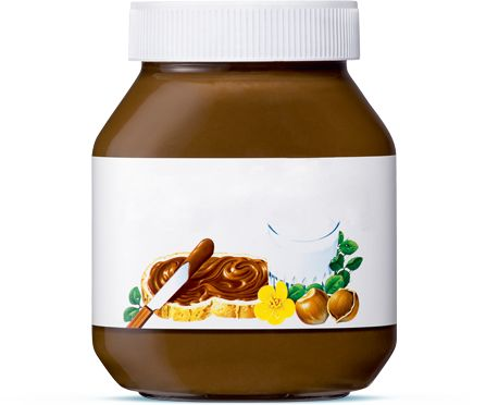 Dites-le avec Nutella® ! Créez vos messages personnalisés et partagez-les !