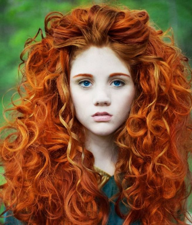 natural red hair color spray