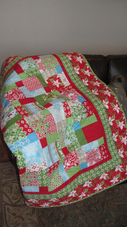 Christmas Flurry Quilt Christmas Ideas Pinterest