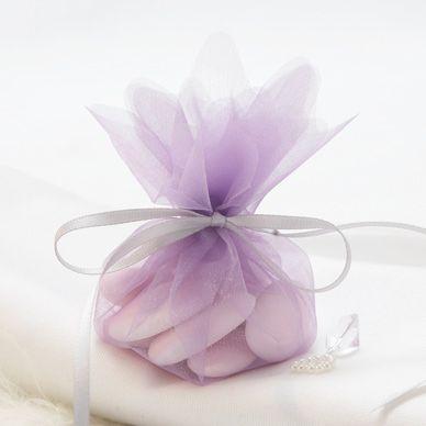 Lilac Wedding Bonbonnieres - 10 Pack