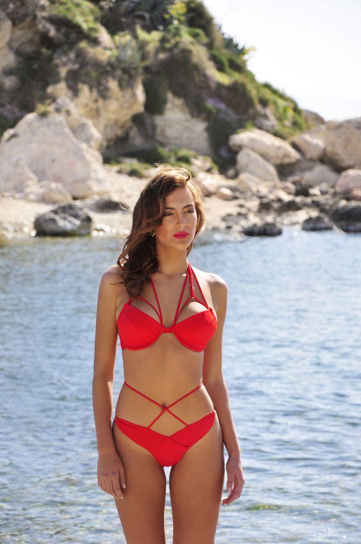 Portofino Red Swimgerie | Holidolls